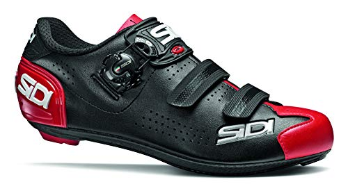 Sidi Alba 2 Road Cycling Shoes (9.5, Black/Red)