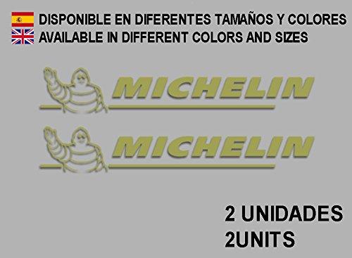 Ecoshirt HJ-XF2G-GYVB Aufkleber Stickers Puppe Michelines F24 Aufkleber Decals Autocollants Adesivi, Gold