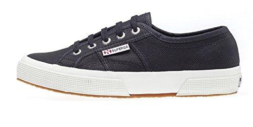 Superga Superga Unisex 2750 Cotu Classic Sneaker, Schwarz (F83), 44.5 EU