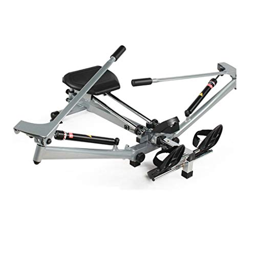 Rowing Machines Concept 2 Model D Folding Hydraulic Household Fitness Equipment (Color : Black, Size : 139 * 49 * 45cm)