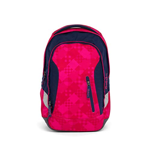 SATCH Cherry Checks Kinder-Rucksack, 45 cm, Lila