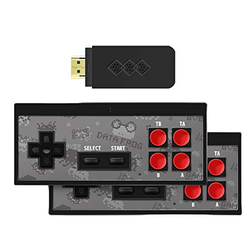 HD Retro-Spielekonsole, Plug & Play Klassische Mini-Retro-Spielekonsole, Integriert Mit 750 Klassischen Retro-Spielen 2-Spieler-Modus Konsole TV-Ausgang Bringen Sie Kindheitserinnerung Zurück