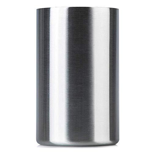 MINGMIN-DZ Durable Cubo de Enfriador de Vino Aislado con aireador de Vino: se Adapta a Las Botellas de Vino de 750 ml, Mantiene el Vino frío por Horas de Acero Inoxidable sin Sudor
