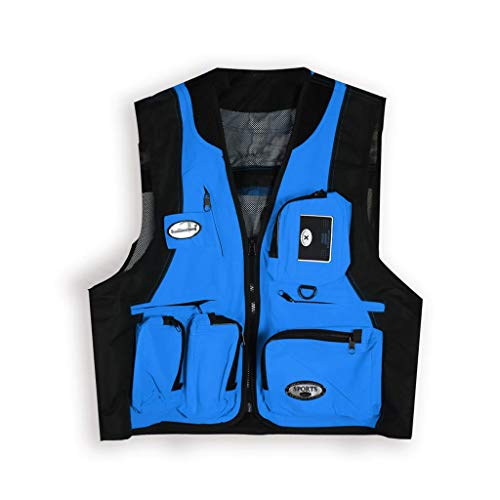 THBEIBEI Heren 9 zakvisvest afneembare achterkant design Gilets ademend dunne jas voor camping fotografie
