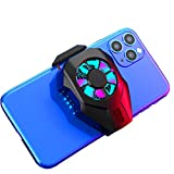 Mobile Phone Cooler, 3 Seconds Cooling Semiconductor Heatsink Phone Radiator with Fan for Gaming Lives Watch Videos