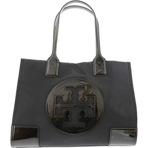 Tory Burch Ella Patent Mini Tote Black