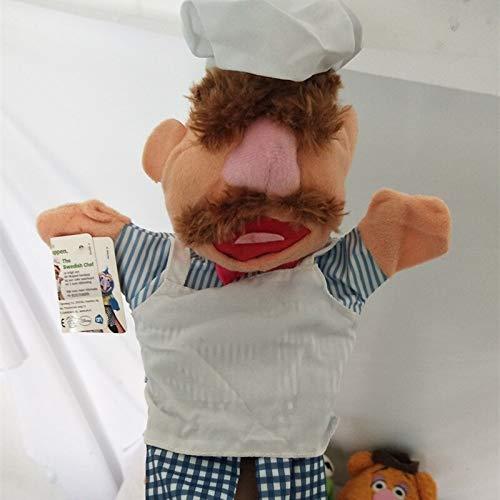 tianluo Stofftier 28cm Die Muppets Puppe Kermit Frosch Bär Schwedische Köchin Miss Piggy Gonzo Plüsch Gefüllte Handpuppen Baby Kinder Kinderspielzeug
