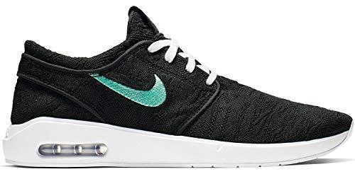 Nike Unisex-Erwachsene Air Max Janoski 2 Fitnessschuhe, Schwarz (Blk/Mint-blk Schwarz), 44 EU