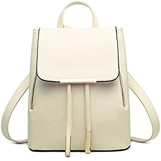 Han Shi Backpacks, Women Girls Leather Schoolbags Travel Casual Shoulder Bag Mochila