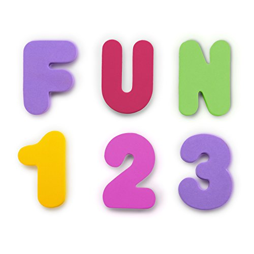 Best Price Munchkin 36 Bath Letters and Numbers, Pastel