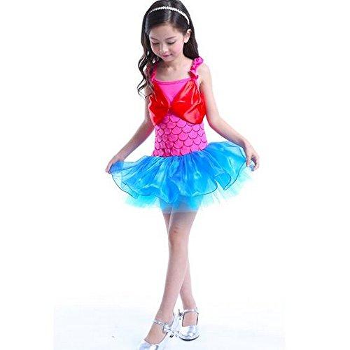Peuter Meisjes Ballet Tutu Jurk Ballerina Fancy Fee Kostuum Danskleding Luipaard Rok 90cm roze