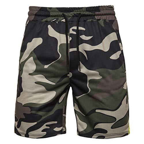 IFOUNDYOU Homme Shorts de Bain Plage Natation Bermuda Pant Court de Sport Beach Séchage Rapide Natation Short Court de Sport Beach Séchage Rapide avec Doublure en Maille et Sacs