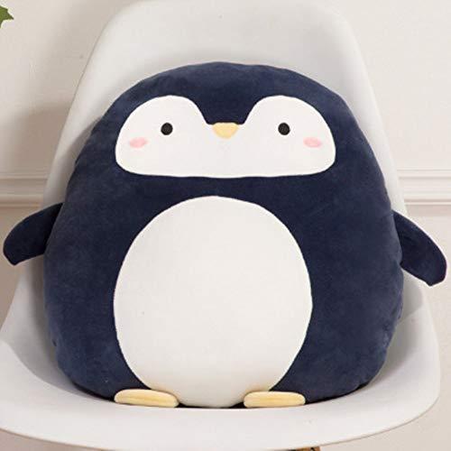 RAILONCH Tier Kissen Plüschtier Stofftier Kuscheltier Cartoon Kissen Süß Dinosaurier Geschenk Unisex Kuscheltier (Pinguin)