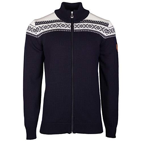 Dale of Norway Herren Cortina Merino Masculine Jacke, Navy/Off White, L