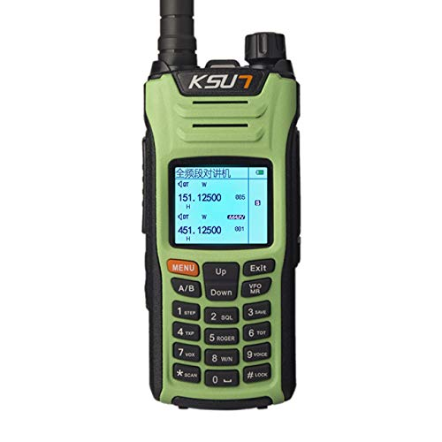 Review Of KSUN X-UV68D(MAX) walkie Talkie 8W high Power Dual Band Handheld Two Way Ham Radio Communi...