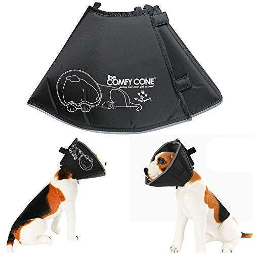 Bvnivcxzem Dog Cone Collar Dogs Recovery Collar Dogs Protective Collar Cone for Dogs Kitten Collar Buster Collars for Dogs Cat Collars Cone Adjustable Pets Cone l
