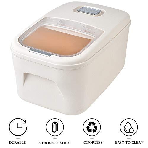 Reisbehälter Reisbox, Küche Getreide Aufbewahrungsbox 20 Kg 30 Kg Aufbewahrung Reisbehälter Haushaltsinsekt Und Feuchtigkeitsbeständig Müslibehälter (Color : A, Size : 25kg)