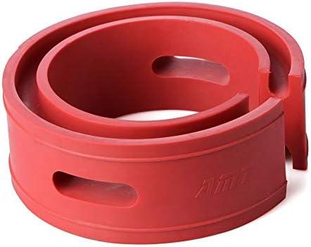 1pc Rode Kleur Auto Schokdemper Lente Auto Buffers DEF Type Springs Bumpers Kussen Universeel voor de meeste voertuigen ColorD