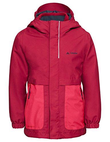 VAUDE Mädchen Kid´s Campfire 3in1 Jacket, rosa(bright pink), 110/116