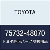 TOYOTA (トヨタ) 純正部品 フロントドア アウトサイド モールディング LH ハリアー/HYBRID 品番75732-48070