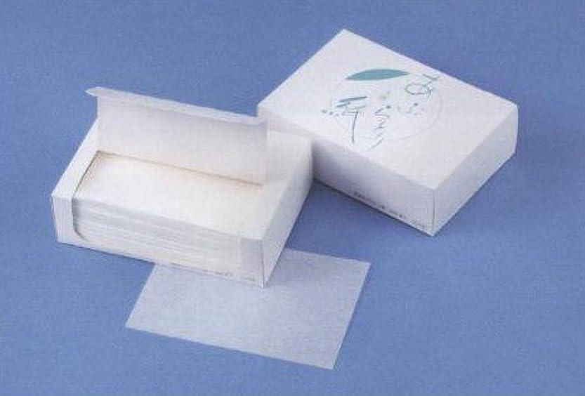 ドロー余韻挽く業務用天然あぶらとり紙 1、000枚入(白紙)【10個単位販売】