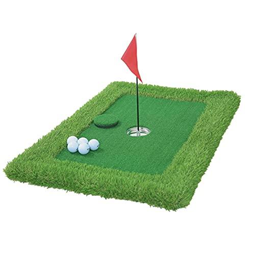 Pool Golf Game Set, Flottant Golf Green Tat Piscine Golf Game, Ensemble de Jeu de Golf pour Piscine, Tapis de Golf Flottant Fruit Ridge, Fête Aquatique Golf d