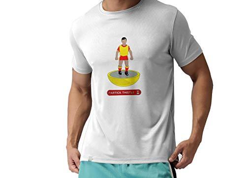 Partick Thistle FC Novelty Football T Shirt, (Medium)