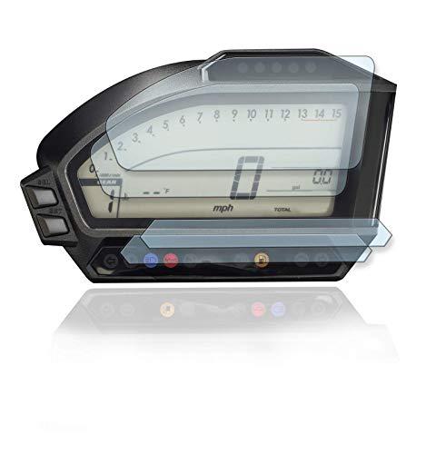 [2 Stück] Displayschutzfolie Tacho Schutzfolie geeignet für Honda CBR1000RR Fireblade SC59 2012+ Panzerglas