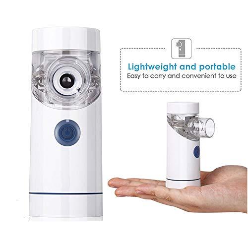 Handheld Luchtbevochtiger - Draagbare Vapor Inhaler met een USB-kabel Handheld Mute Travel Steam Compressor luchtbevochtiger Koude Mist Inhaler voor volwassenen en kinderen,A