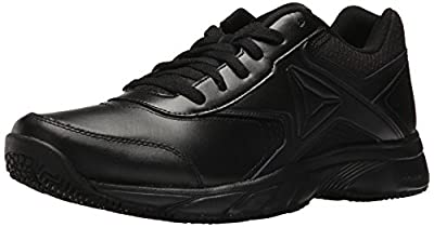 Reebok Men's Work N Cushion 3.0 Walking Shoe, Black, 10.5 M US