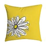VJGOAL Impresión Amarilla Suave cómodo Funda de Almohada Sofá Cintura del Coche Cojín Cuadrado Cubierta Decoración para el hogar(45_x_45_cm,Multicolor8)