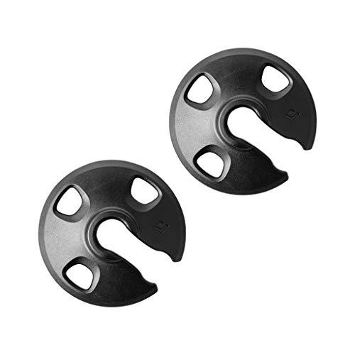 Black Diamond Unisex– Erwachsene Tech Tips Carbide - Ersatzspitzen passend Wanderstöcke Stockaufsatz, Silber, One Size