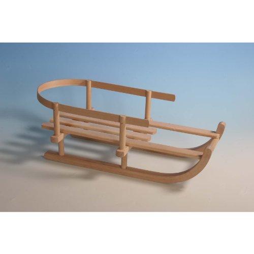 Puppen-Schlitten Holz, L46cm/B20cm
