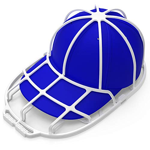 YEENOR Hat Washer,Cap Washer,Baseball Cap Washers,Baseball Hat Cleaner/Cleaning Protector,Ball Cap Washing Frame Cage Hat Washing Holder,Ball Cap Hat Visors Shaper/Organizer for Washing Machine