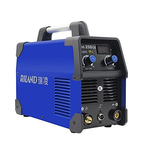 Máquina de soldadora TIG250CE Inversor monofásico portátil inteligente Pulso TIG Soldador de...