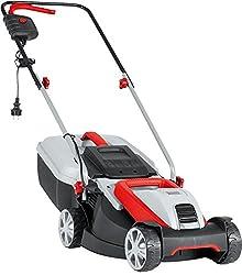 AL-KO Elektro-Rasenmäher 3.82 SE Classic (38 cm Schnittbreite, 1.400 W Motorleistung, Schnitthöhe 3-Fach verstellbar, inkl. 37 l Fangkorb mit Füllstandsanzeige, für Rasenflächen bis 500 m²)