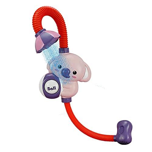 Chuveiro de bebê – Enxaguador com bomba de água de elefante e bico de porta-malas – para recém-nascidos na banheira ou na pia