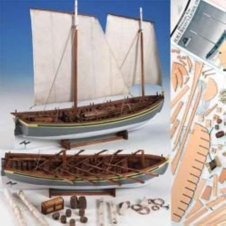 Model Shipways Wood HMS Bounty Launch 1 16 PlankonFrame Kit MS1850  Model Expo