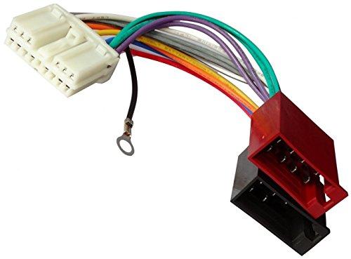 Aerzetix - ISO-Konverter - Adapter - Kabel Radioadapter Radio Kabel Stecker ISO-Kabel Verbindungskabel