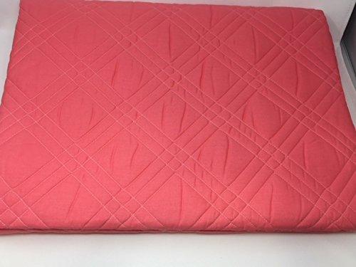 Couvre-lit matelassé pour lit simple Caleffi Art. Marinella Double variante corail 170 x 260 cm