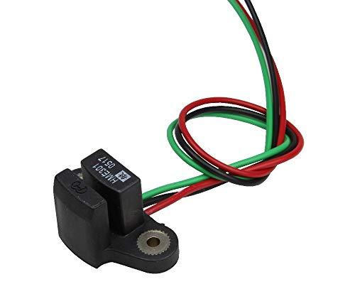 ChenYang Hall-Effect Drehzahlgeber CYHME301S (4.5V-24V, 9mA, NPN(OC)),Drehzahlsensor, Endschalter, Positionssensor, Geschwindigkeitsmesser, Encoder, und zum Scannen der Kodierungen von Festplatten