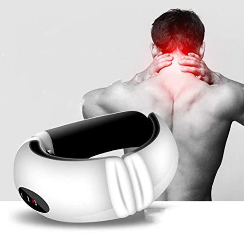 XGLL Massager del Cuello, Massager Recargable Sin Cuerda Portátil del USB del Pulso Electromágnetico para El Cuello, Parte Posterior, Pierna, Uso En Casa, Coche, Oficina