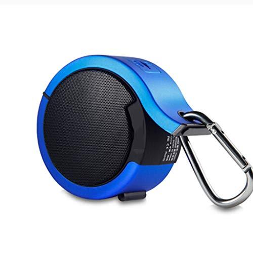 Lamp love Subwoofer Altavoz Bluetooth Subwoofer Portátil Inalámbrico Móvil Walkman Computadora Móvil Tarjeta De Deportes Al Aire Libre Mini Altavoz De Audio Accesorios Electronicos (Color : Blue)