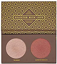 ZOEVA Cocoa Blend Highlight Face Palette - Powder Face Highlighter Makeup, Flattering for All Skin Tones, Highly-Pigmented Shimmer, Fragrance-Free, Paraben-Free