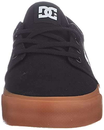 DC Shoes Trase TX, Zapatillas Hombre, Negro 56, 45 EU