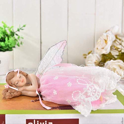 LHQ-HQ Ornaments Gifts - Figura decorativa para decoración del hogar, diseño de hada de flores, mejor regalo para niña