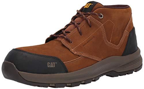 Caterpillar Men's Resolve MID Composite Toe Industrial Shoe, Brown, 11.0 M US