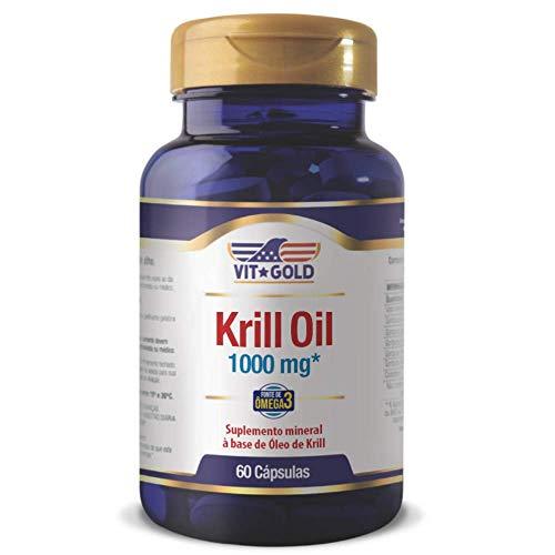 Óleo de Krill 1000 mg Vitgold 60 cápsulas