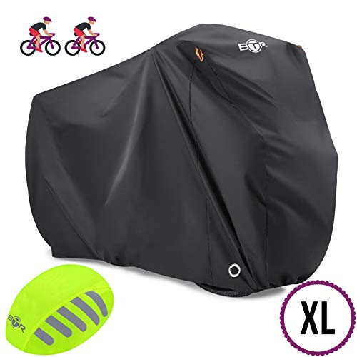 BTR Heavy Duty Waterproof Bike Cover. Bicycle Cover Fits Up 1 or 2...
