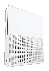 Xbox One S and Xbox One S Digital Wall Mount Bracket (White) - Made in the U.K. Q-View